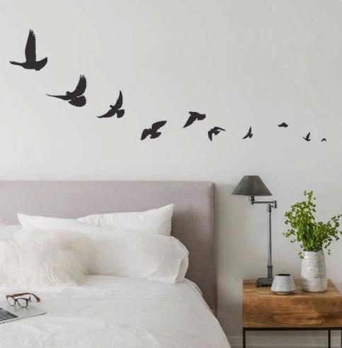 птицы как украшение стены