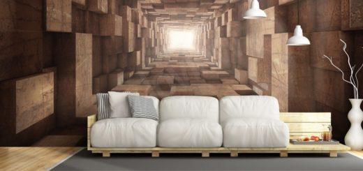 Абстракция новое измерение в дизайне интерьера