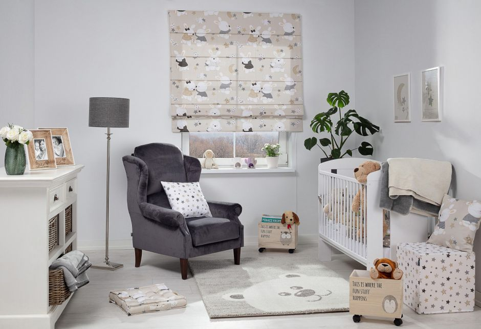 дизайн комнаты малыша
