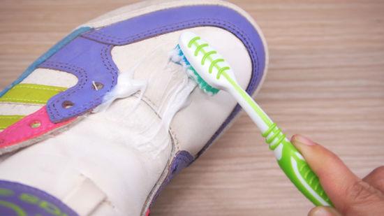 Отбелить обувь