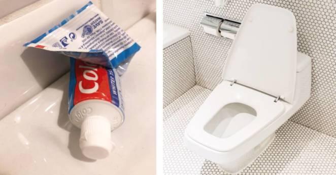 зубная паста для чистки унитаза