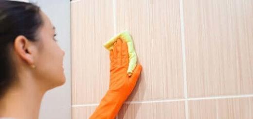 очистка плитки