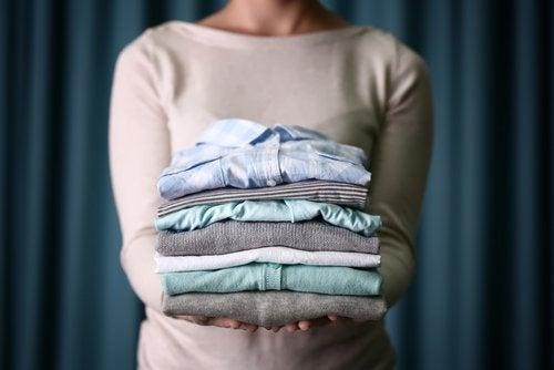 белье после стирки