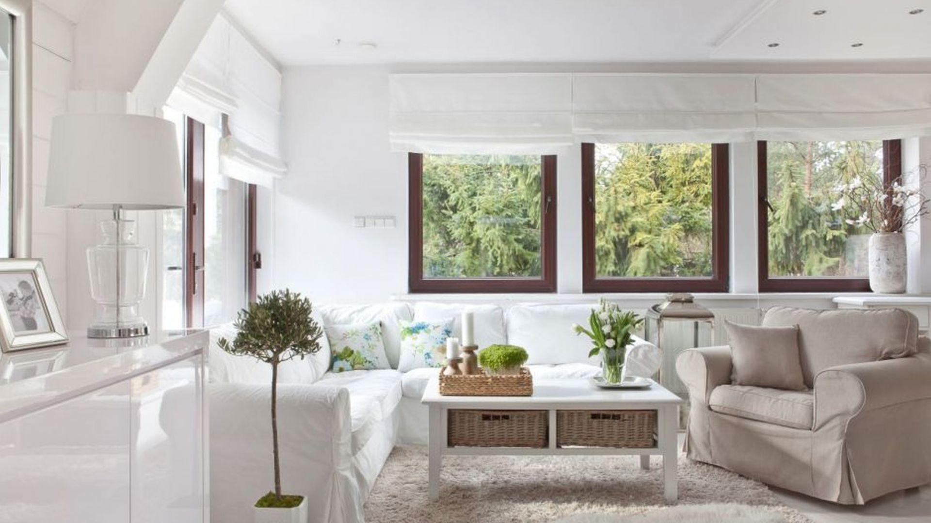 Идея для оформления гостиной в скандинавском стиле