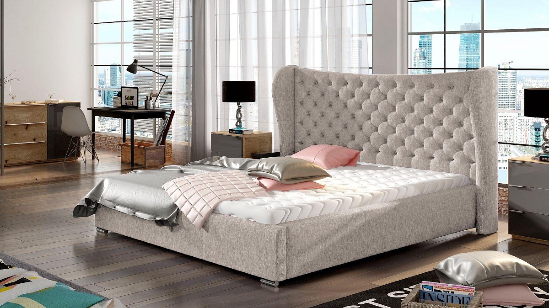 монохромный дизайн современной спальни